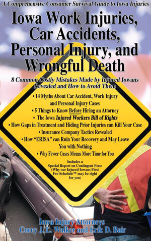 How to Avoid 8 Common Mistakes in Iowa Car Accident, Work Injury, Personal Injury and Wrongful Death Cases