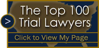 Logo Recognizing Walker, Billingsley & Bair's affiliation with Top Lawyers